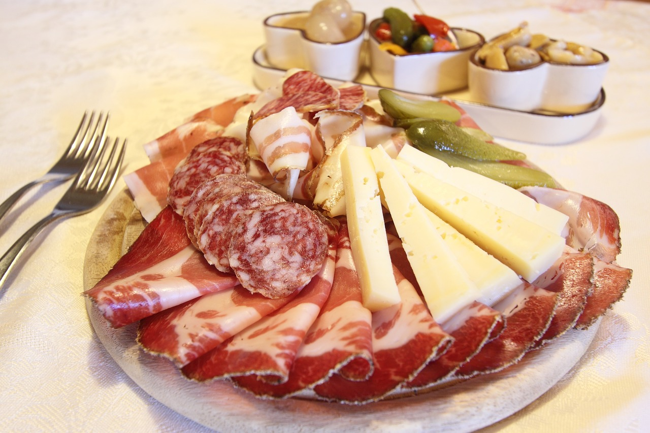 charcuterie at high west distillery and saloon