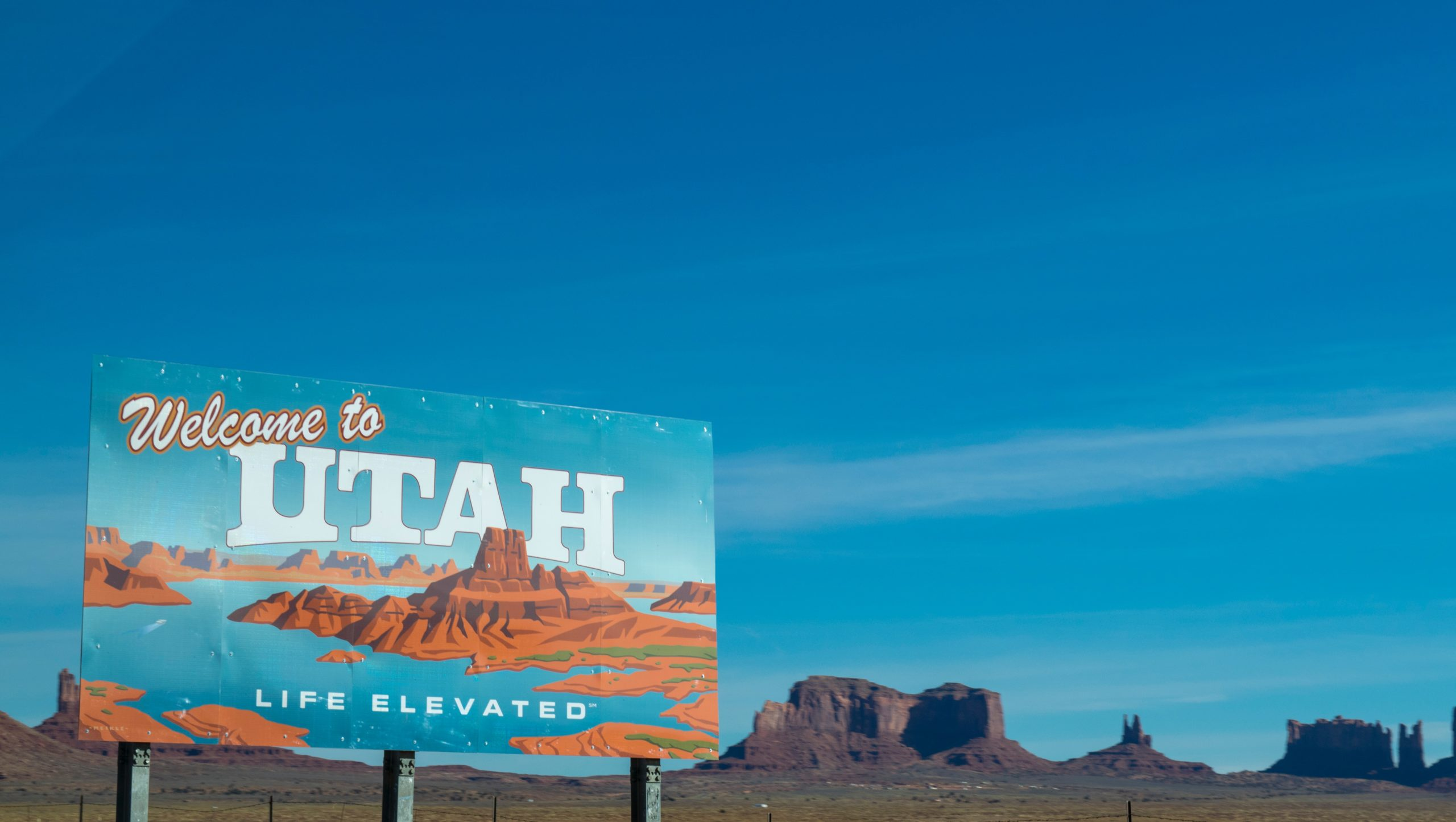 Utah State Sign for 7 Days in Park City