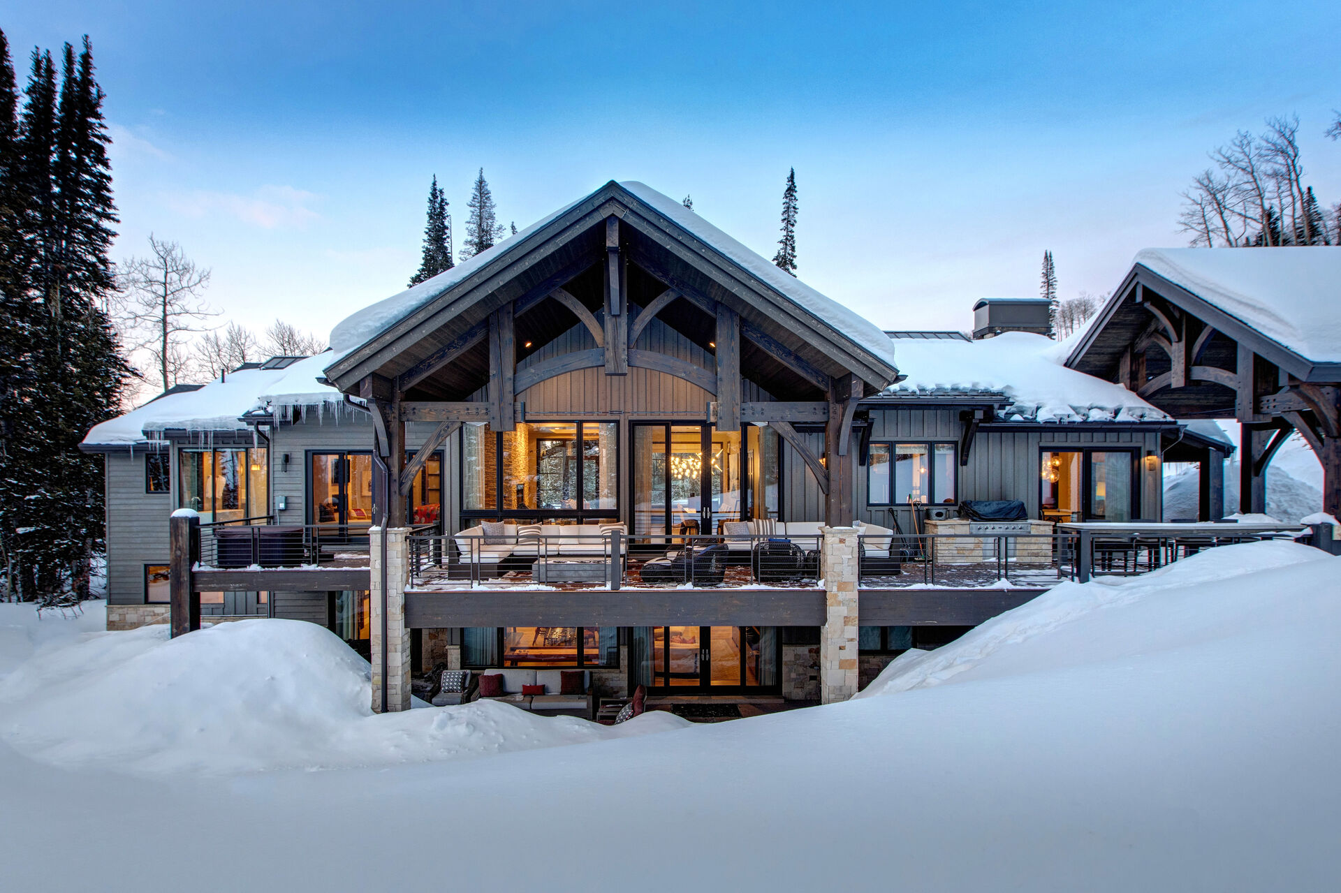 Front Picture of One of Our Rentals in Park City, Utah.